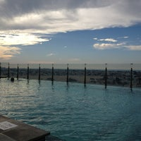 Photo taken at Pool@ Radisson Royal Hotel by Ulf L. on 2/8/2013