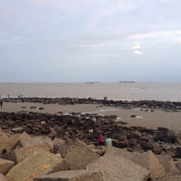 Photo taken at patenga Beach by M. A. on 6/26/2014