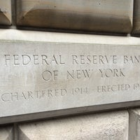 Photo taken at Federal Reserve Bank of New York by Roberto V. on 7/23/2014