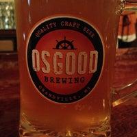 Photo taken at Osgood Brewing by Jaime V. on 9/11/2013