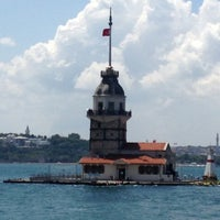 Photo taken at Maiden's Tower by Cemil🇹🇷 C. on 7/17/2013