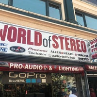 Photo taken at World of Stereo by William J. on 7/20/2017
