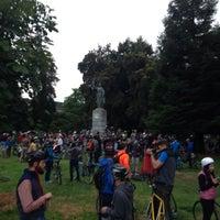 Photo taken at William McKinley Statue by William J. on 6/7/2014