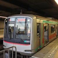 Photo taken at Aobadai Station (DT20) by ken k. on 1/3/2013