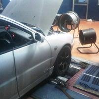 Photo taken at Mael Advan Auto (Dyno Dynamics) by Caexx on 10/21/2013