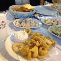 Photo taken at Mavra Restaurant by Faruk B. on 10/13/2012