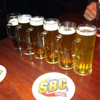 Photo taken at SBC Restaurant & Brewery by Janal M. on 4/20/2013