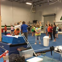 Photo taken at Alamo Heights Gymnastics Academy by Jenny M. on 5/26/2013