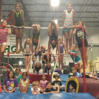 Photo taken at Alamo Heights Gymnastics Academy by Jenny M. on 7/15/2013