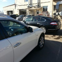 Photo taken at Автотехцентр Nissan by Alexander R. on 4/10/2014
