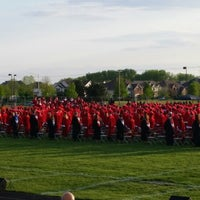 Photo taken at Plainfield North High School by Scott G. on 5/18/2014