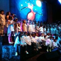 Photo taken at Teatro Metropolitano by anamicano on 12/1/2012