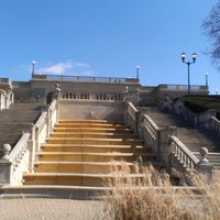 Photo taken at Ault Park by Sarah A. on 2/24/2013