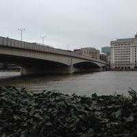 Photo taken at London Bridge by Marco N. on 4/28/2013