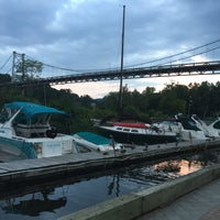 Photo taken at Kingston Marina by Georgiana M. on 8/25/2015