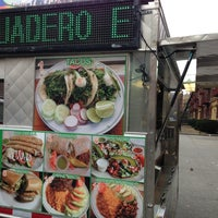 Photo taken at Tacos El Dorado by Georgiana M. on 1/16/2014