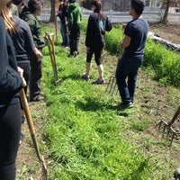 Photo taken at The Food Project -West Cottage Farm by Georgiana M. on 5/4/2013