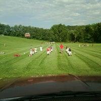 Photo taken at Gronnger Feild by Michael D. on 7/29/2013