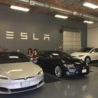 Photo taken at Tesla by Gina L. on 7/21/2016