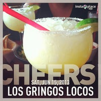 Photo taken at Los Gringos Locos by Jamie C. on 6/16/2013
