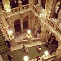 Photo taken at Vienna State Opera by Hugo C. on 1/1/2014