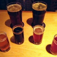 Photo taken at Brewerkz Restaurant & Microbrewery by Craig O. on 2/14/2013
