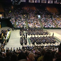 Photo taken at EagleBank Arena by Christopher M. on 6/2/2013