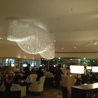 Photo taken at Hilton Munich Park by Elina on 12/30/2012