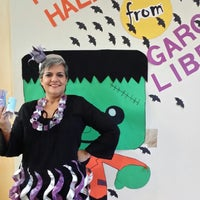 Photo taken at Dr. Clotilde P. Garcia Public Library by K Dawn S. on 10/25/2014