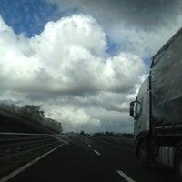 Photo taken at Confine Umbria-Lazio by ❤ Erika G. on 10/29/2012