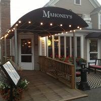 Photo taken at Mahoney's Atlantic Bar & Grill by Jennifer W. on 8/27/2013
