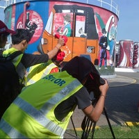 Photo taken at Coca Cola Amatil Indonesia - National Plant by Avan on 8/15/2013