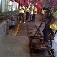 Photo taken at Coca Cola Amatil Indonesia - National Plant by Avan on 8/16/2013