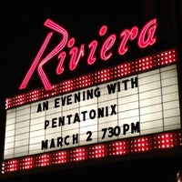 Photo taken at Riviera Theatre by Sonny D. on 3/3/2013