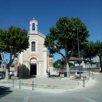 Photo taken at Eglise de Brue Auriac by Denis v. on 5/16/2016
