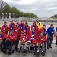 Photo prise au World War II Memorial par Sally W. le4/16/2013