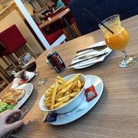 Photo taken at MiniMax Restaurant by Liridon V. on 2/14/2015
