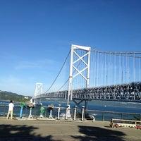Photo taken at Onaruto Bridge by mugisuke on 9/16/2013