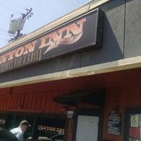 Photo taken at Canyon Inn Sports Bar & Grill by Jacqui 4sq Ninija Y. on 7/26/2014