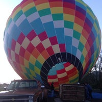 Photo taken at Hot Air Balloon Over Napa by Kathleen N. on 3/30/2014