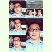 Photo taken at Jalan Medan-Binjai by Tonny L. on 2/6/2014