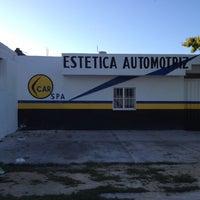 Photo taken at car spa estética automotriz by Rolando M. on 12/21/2013