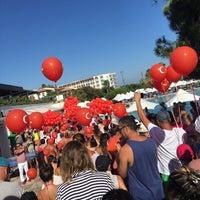 Photo taken at Voyage Sorgun Aqua Park by Şevval A. on 8/30/2016