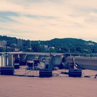 Photo taken at Terrasse - Ubisoft Montreal by Emma B. on 7/27/2013