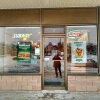 Photo taken at Subway by Michael M. on 3/1/2016