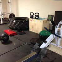 Photo taken at Columbus Fire St 34 Crossfit by KevinL on 7/12/2013