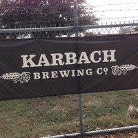 Photo taken at Karbach Brewing Co. by aaron h. on 11/14/2012