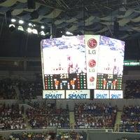 Photo taken at SMART Araneta Coliseum by Quiana P. on 7/27/2013