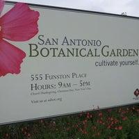 Photo taken at San Antonio Botanical Garden by Sams on 10/20/2012