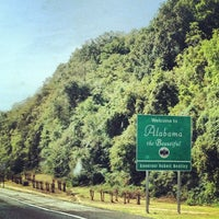 Photo taken at Alabama/Tennessee State Line by Megan T. on 9/21/2012